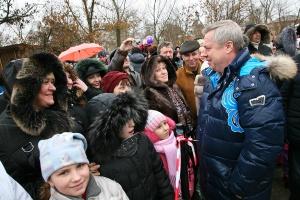 В станице Старочеркасской прошло праздничное гуляние «Маслена красна – блинами вкусна»