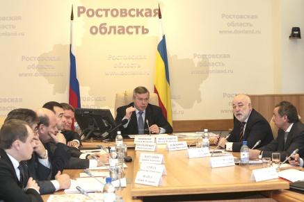 Василий Голубев и Виктор Вексельберг обсудили ход строительства аэропортового комплекса «Южный»