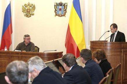 Василий Голубев провёл заседание комиссии по предупреждению и ликвидации ЧС