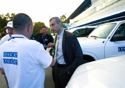 Поль Пикар, руководитель постоянной группы ОБСЕ в Ростовской области