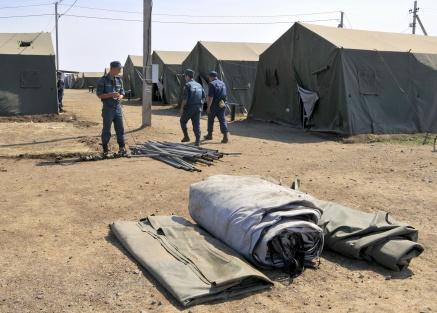 В Ростовской области ликвидированы полевые пункты временного размещения беженцев