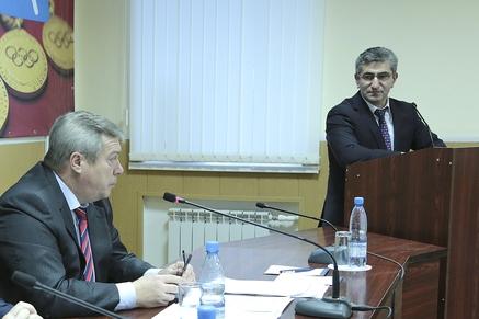 Василий Голубев и Самвел Аракелян